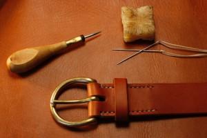 cognac belt 4096