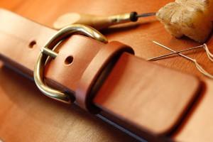 cognac belt 4099