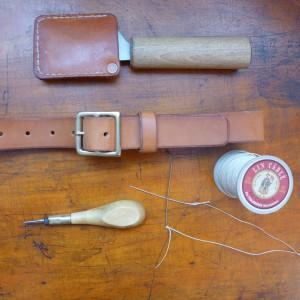 slim belt handsewn 3820