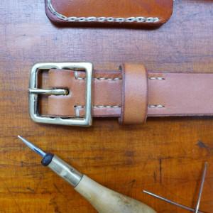 slim belt handsewn 3821