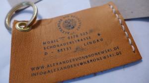 Logos Alexander von Bronewski Manufaktur 590