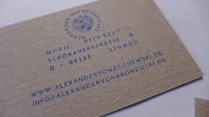 Logos Alexander von Bronewski Manufaktur 591