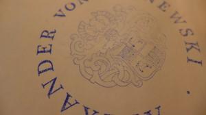 Logos Alexander von Bronewski Manufaktur 594