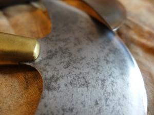 Blanchard Halbmondmesser Leder  1215