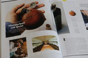 Experience Magazin Sozius Stählemühle Alexander von Bronewski Flachmann 6187