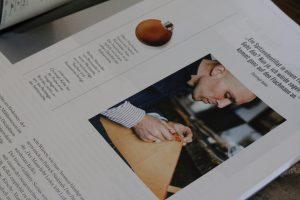 Experience Magazin Sozius Stählemühle Alexander von Bronewski Flachmann 6188