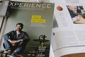 Experience Magazin Sozius Stählemühle Alexander von Bronewski Flachmann 6189