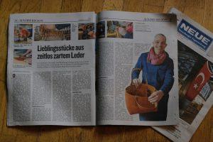 Lieblingsstücke aus zartem leder Neue Vorarlberger Tageszeitung 6352