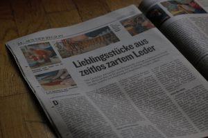 Lieblingsstücke aus zartem leder Neue Vorarlberger Tageszeitung 6354