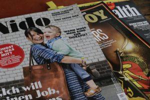 Titelcover Nido Magazin Leder Alexander von Bronewski Manufaktur 6179