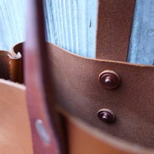 Leder Tote Bag Iris Handtasche cognach hellbraun 1537