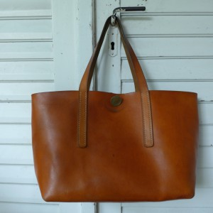 Rosa Tote Bag Handgenäht ledertasche  3711