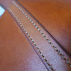 Rosa Tote Bag Handgenäht ledertasche  3710