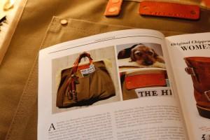 Tillmann Hundebett Tasche The Heritage Post Damen Lieblingsstück 4384