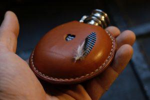 Flachmann Leder ein besonderes Geschenk