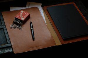 Unterschriftenmappe Leder Konferenzmappe